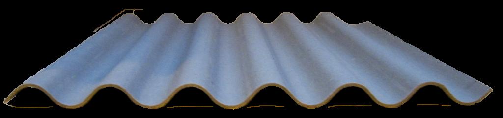 Lastre Ondulate P6 NT Secursil Grigie